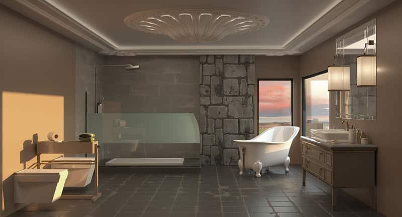 Comment aménager une salle de bain Art déco?